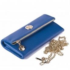 Кожаный клатч 9592 N.Polo Bright Blue