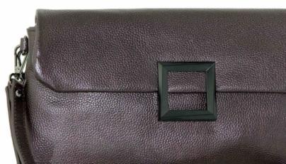 Клатч кожаный на цепочке женский 576-2 фото-2