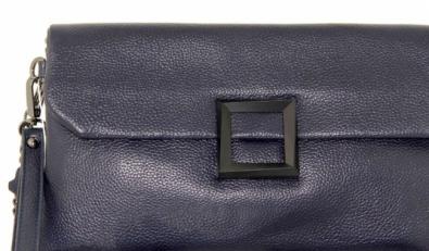 Клатч кожаный на цепочке женский 576-3 фото-2