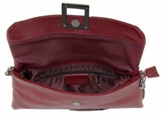 Клатч кожаный на цепочке женский 576-55 фото-2
