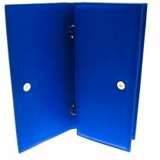 Женский клатч из синей кожи Queen фото-2