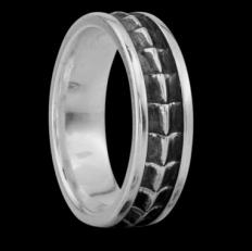 """Серебряное кольцо """"Крокодил"""" фото-2"""