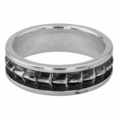 """Серебряное кольцо """"Крокодил"""""""