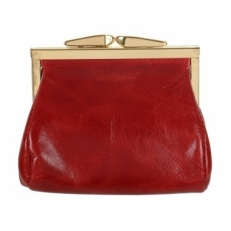 Красный кошелек для мелочи Блюз
