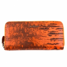 Кошелек на молнии Giorgio Ferretti 00051-A479 оранжевый