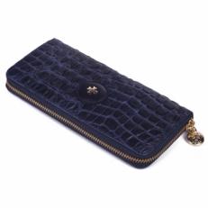 Кошелек женский Narvin 9588 Crocco Blue