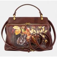 Женская сумочка «Кролик в лесу»