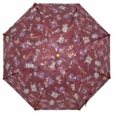"""Детский зонт Ame Yoke """"Собачки"""" бордовый"""