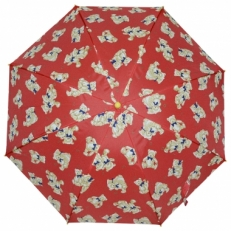 """Детский зонт Ame Yoke """"Мишка с бантом"""" красный"""