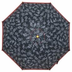 """Детский зонт Ame Yoke """"Кот под зонтом"""" черный"""
