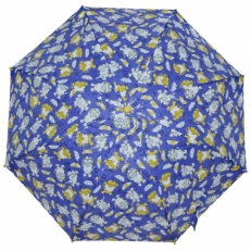 "Детский зонт Ame Yoke ""Кот под зонтом"" синий"