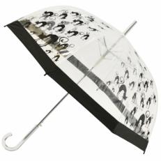 """Прозрачный зонт-трость """"Кошки"""""""