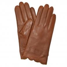 Женские перчатки рыжие