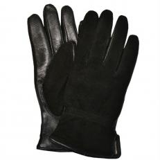 Замшевые женские перчатки