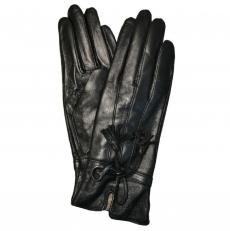 Женские перчатки кожа
