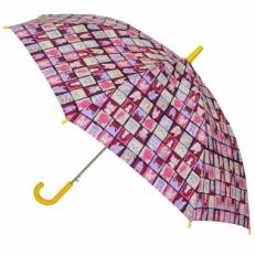 """Детский зонт """"Котики"""" фиолетовый"""