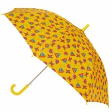 "Детский зонт Ame Yoke ""Кораблики"" желтый"