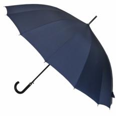 Зонт-трость мужской L-70 синий