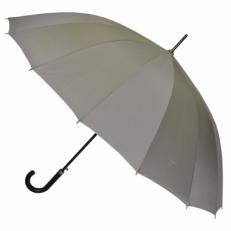 Зонт-трость мужской L-70 серый