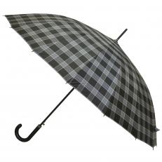 Зонт-трость мужской L-70CH-8 клетка