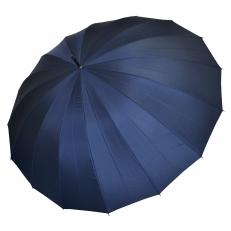 Зонт-трость мужской L-80 синий