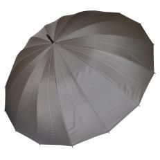 Зонт-трость мужской L-80 серый