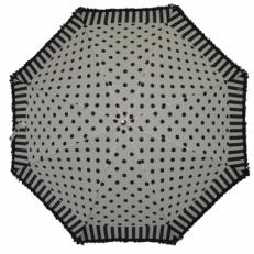 Зонт-трость Ferre LA5006 бело-черный