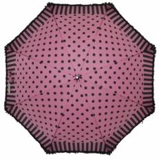 Зонт-трость Ferre LA5006 розово-черный