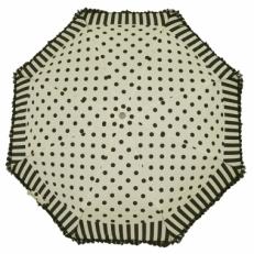 Зонт женский Ferre LA5007 бело-черный