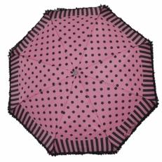 Зонт женский Ferre LA5007 розово-черный