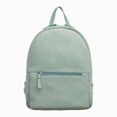 Женский рюкзак из светлой кожи Darley Mint Green