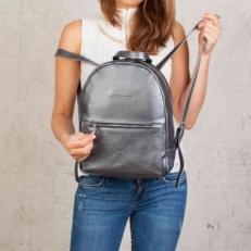 Кожаный рюкзак Darley Silver Grey