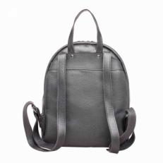 Кожаный рюкзак Darley Silver Grey фото-2