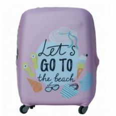 Чехол на чемодан Let's Go-M