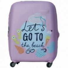 Чехол на чемодан Let's Go-XL