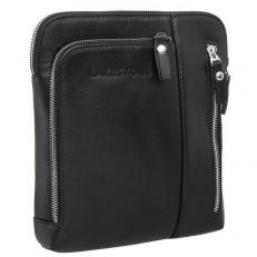 Мужская черная сумка для документов Ludlow