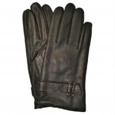 Зимние мужские перчатки из кожи оленя