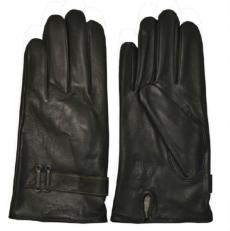 Зимние мужские перчатки из кожи оленя фото-2