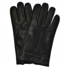 Мужские перчатки из кожи оленя