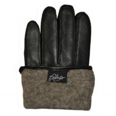 Мужские перчатки из кожи ягненка фото-2