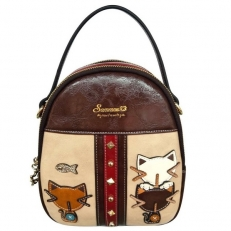 "Мини рюкзак ""Кошки"""