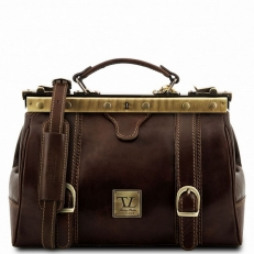 MONALISA - Кожаная сумка саквояж с пряжками