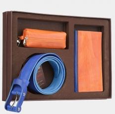 Подарочный набор NP0010 оранжево-голубой