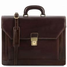 Napoli - Классический кожаный портфель на 1 замке
