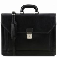 Napoli - Классический черный портфель