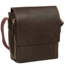 Мужская кожаная сумка с ремнем через плечо Norton