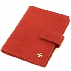 Обложка для документов  9173 N.Gottier Red