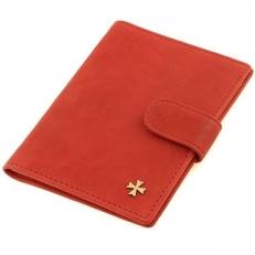 Обложка на паспорт  9180 N.Gottier Red