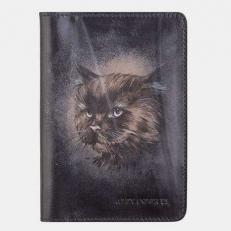Обложка для паспорта «Кот Бегемот»