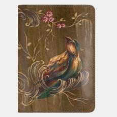 Обложка для паспорта «Райская птица»